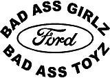 calvin peeing on ford logo