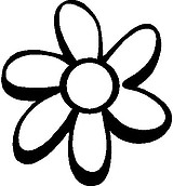 Daisy, Vinyl decal sticker