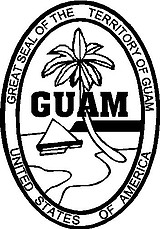 Guam Seal, Vinyl cut decal