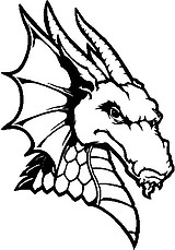 Dragon Head, Vinyl decal sticker
