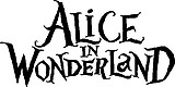 Alice in Wonder Land, Vinyl decal sticker