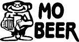 Mo Beer, Vinyl decal sticker