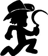 Boondox Man, Vinyl decal Sticker