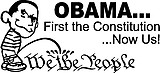 OBAMA peeing on... WE THE PEOPLE, First the Constitution... Now Us!