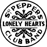 Sgt Peppers Lonely Hearts Club Band, Vinyl decal sticker