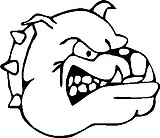 Bull Dog, Vinyl decal sticker