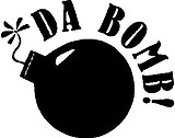 Da Bomb!, Vinyl decal sticker