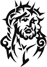 Jesus, Vinyl decal sticker