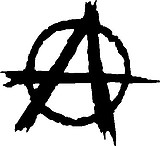 Anarchy, Vinyl decal sticker