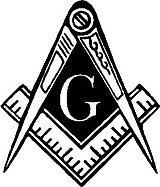Masons, Compas, Vinyl cut decal