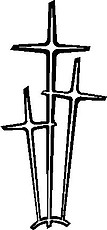 Three Cross, Vinyl cut decal
