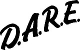 D.A.R.E. Vinyl cut decal