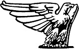 Eagle, Vinyl cut decal