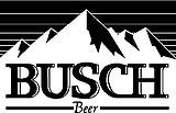 Busch Beer, Vinyl cut decal