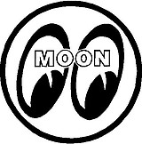 Moon Eyes, Vinyl decal sticker