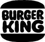 Burger King, Vinyl cut decal