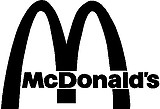 McDonalds Logo, Vinyl cut decal