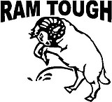 Dodge, Ram Tough, Ram peeing, Vinyl cut decal