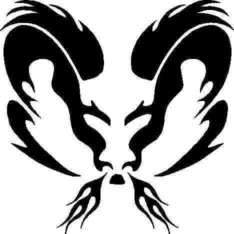 tribal dodge ram logo