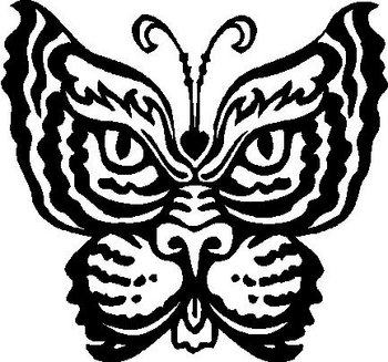 Butterfly Vinyl Cut Decal - Butterfly vinyl decals