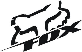 Fox logo, Vinyl decal Sticker
