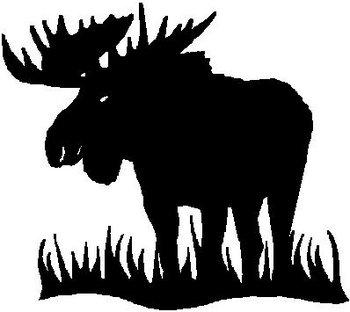 Moose Vinyl Cut Decal