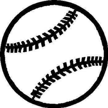 Baseball, Vinyl decal sticker