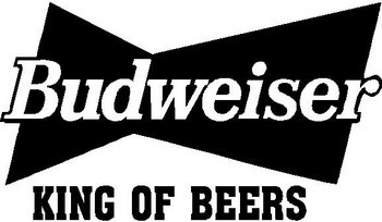 Budweiser, King of beers, Vinyl cut decal