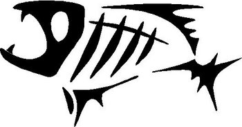 G.Loomis Fish, Vinyl cut decal