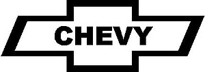 Chevy logo, Vinyl decal sticker