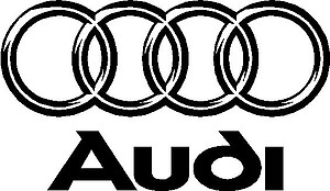 Audi Logo, Vinyl decal sticker