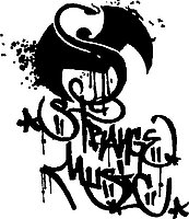 Strange Music, Vinyl decal sticker