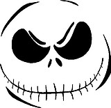 Jack Skelington, Smiley Face Vinyl decal sticker