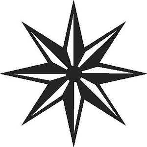 Star, Vinyl decal sticker