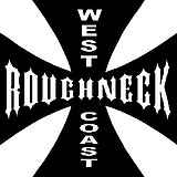 West Coast Roughneck, Maltese cross, Vinyl cut decal