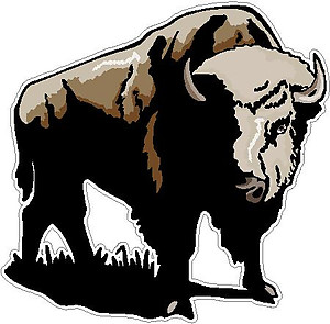 Buffalo, full color decal