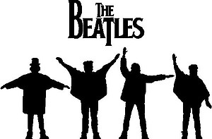 Beatles, Vinyl decal sticker