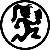 Hatchet girl, Vinyl decal sticker