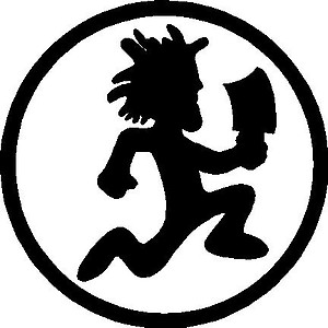 Hatchet man, Vinyl decal sticker