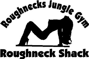Rough necks jungle gym, Roughneck shack, Vinyl decal sticker
