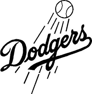 Dodgers, Vinyl decal sticker