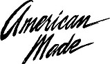 American Made, Vinyl cut decal