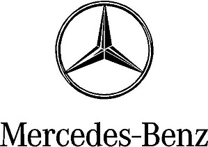 Mercedes-Benz Logo, Vinyl cut decal