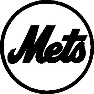 New York METS, Baseball, Vinyl cut decal