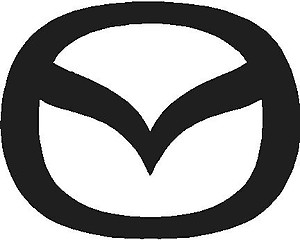 Mazda Logo, Vinyl cut decal