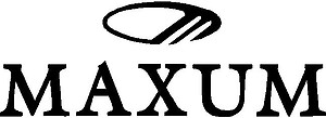 Maxum Logo, Boat, Vinyl cut decal