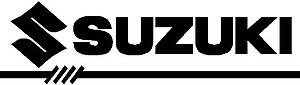 Suzuki Logo, Vinyl cut decal