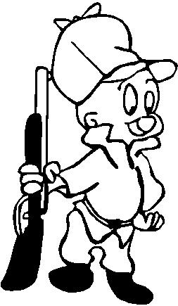 Elmer Fud, Vinyl cut decal