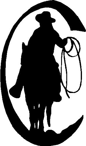 Cowboy, Vinyl decal Sticker