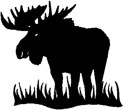 MOOSE, Vinyl cut decal